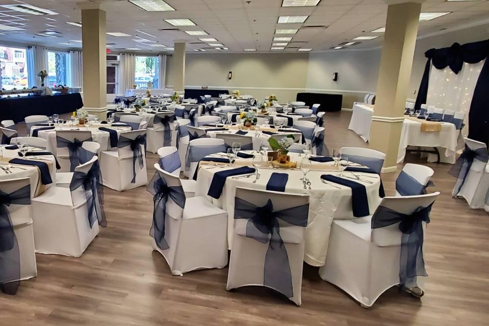 Lavish banquet