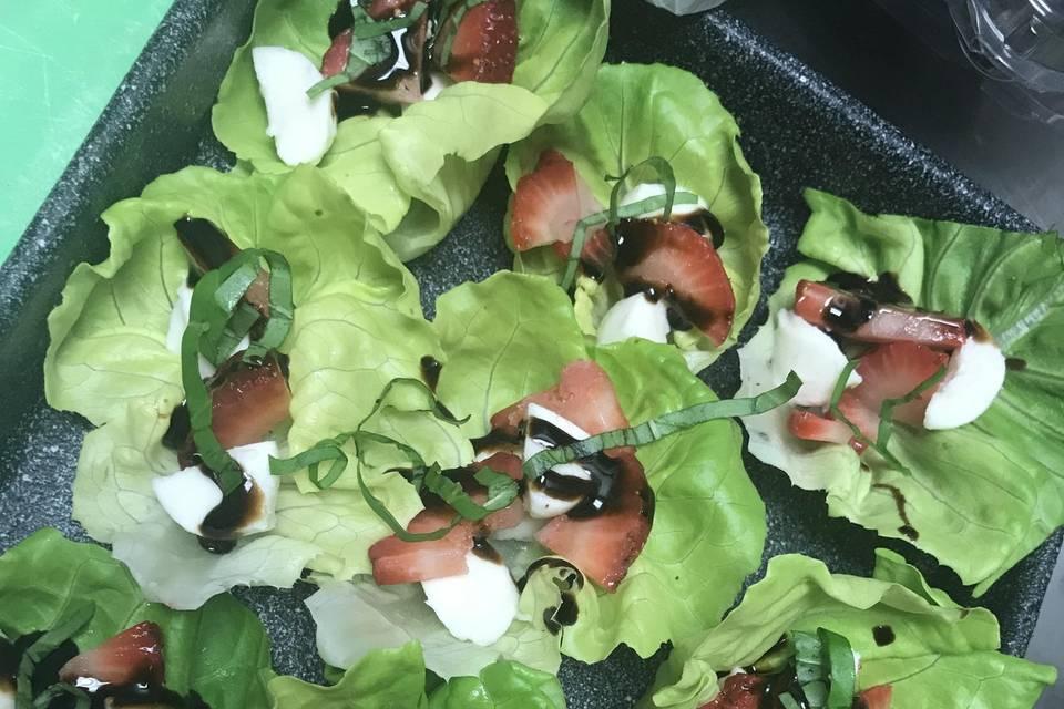 Caprese Lettuce Wraps