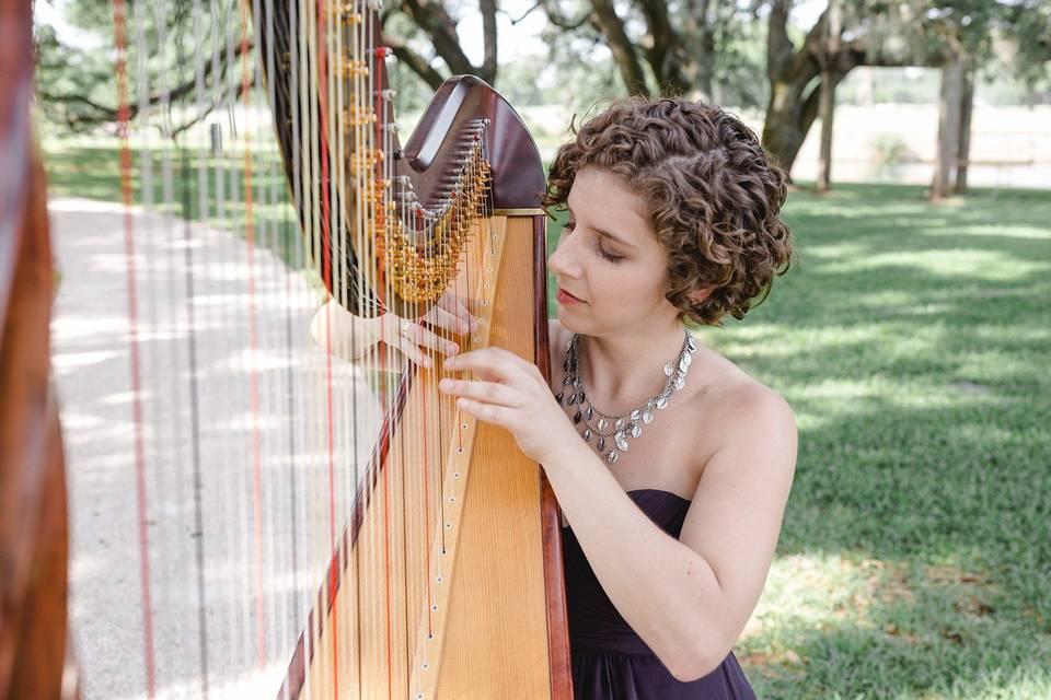 Hope Cowan, harpist