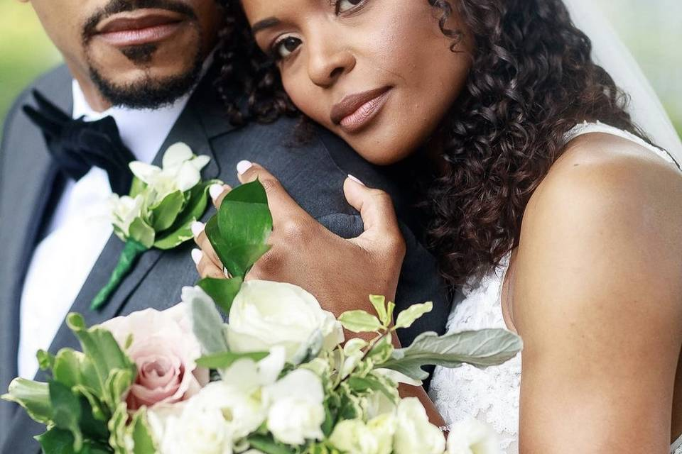 Neusa and her groom