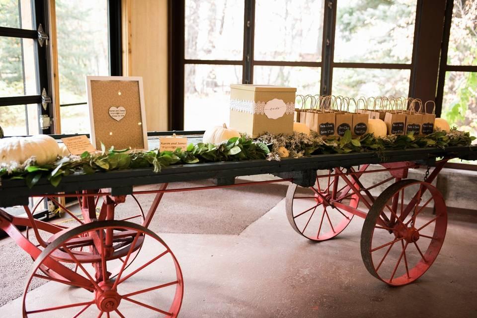 Wagon display