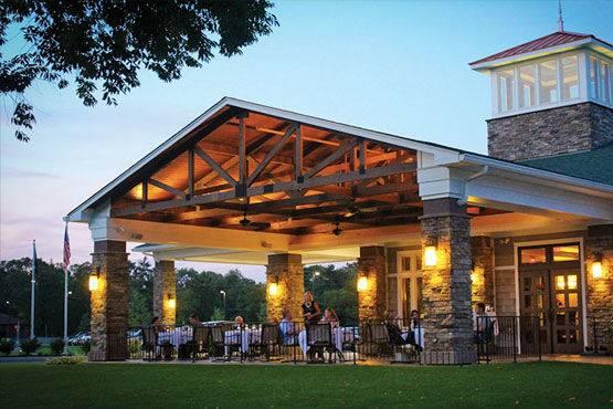 Outdoor reception space