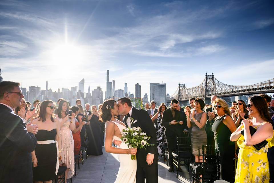 Beautiful outdoor wedding!