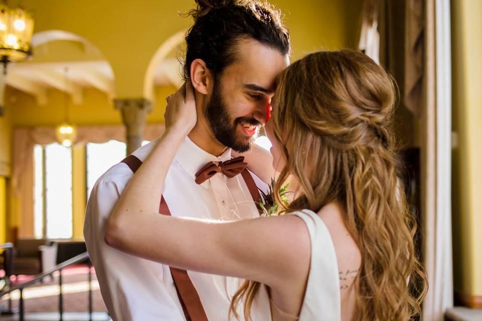 Bridal hair men and women