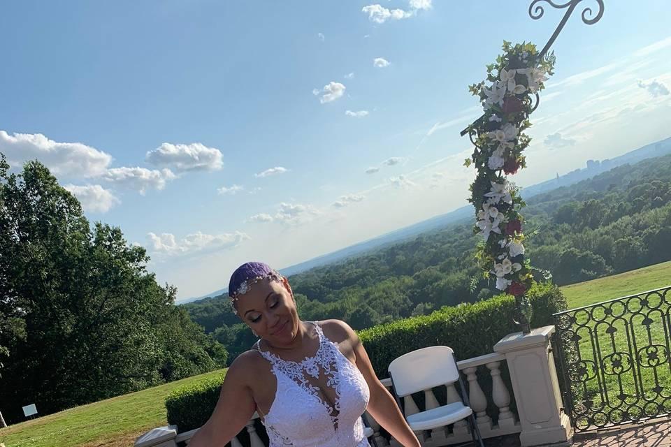 Marcus' bride, Jasmine
