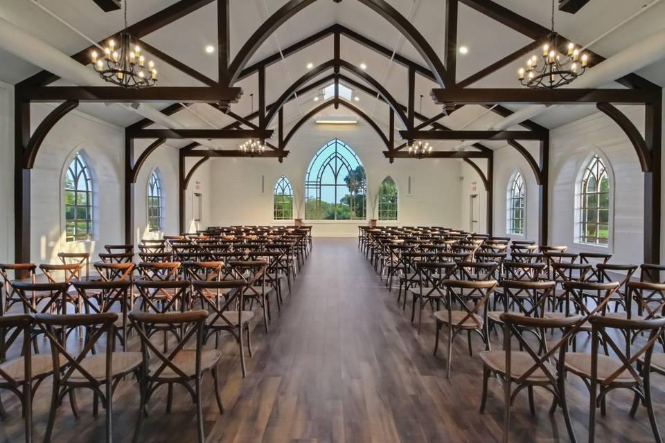 Inspiring Indoor Chapel