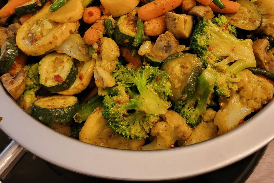 Mixed Veggies with Brussel Spr