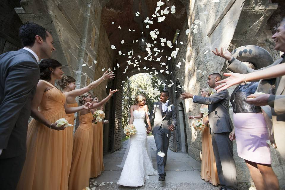 High Profile Luxury Wedding In Italy