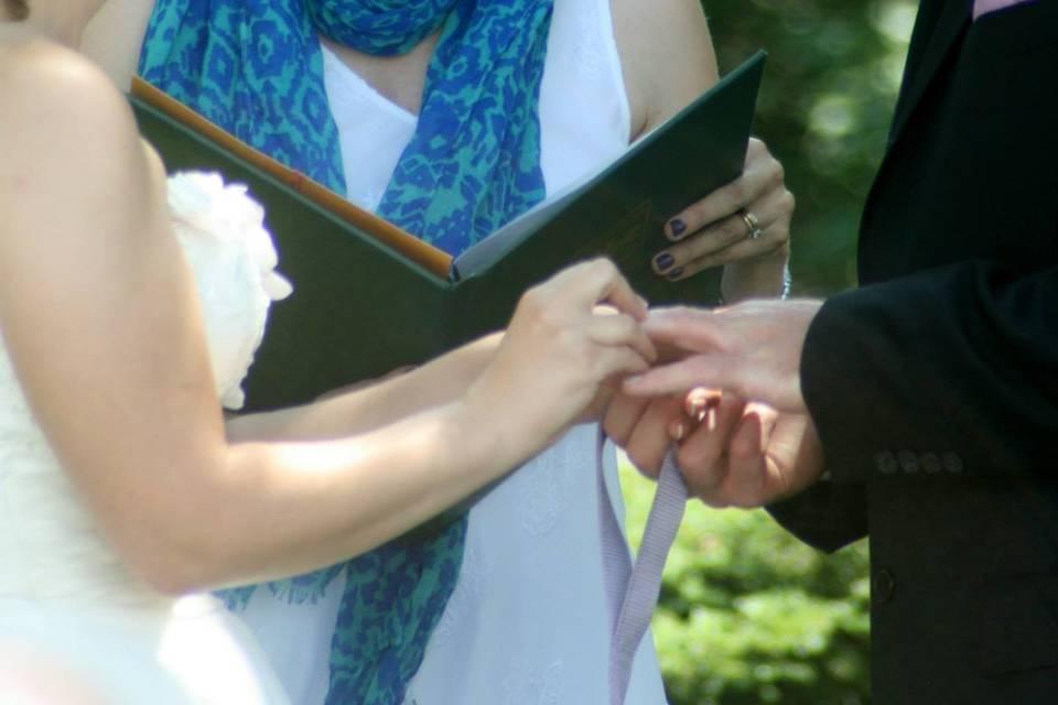 Meghan Ferguson Wedding Officiant