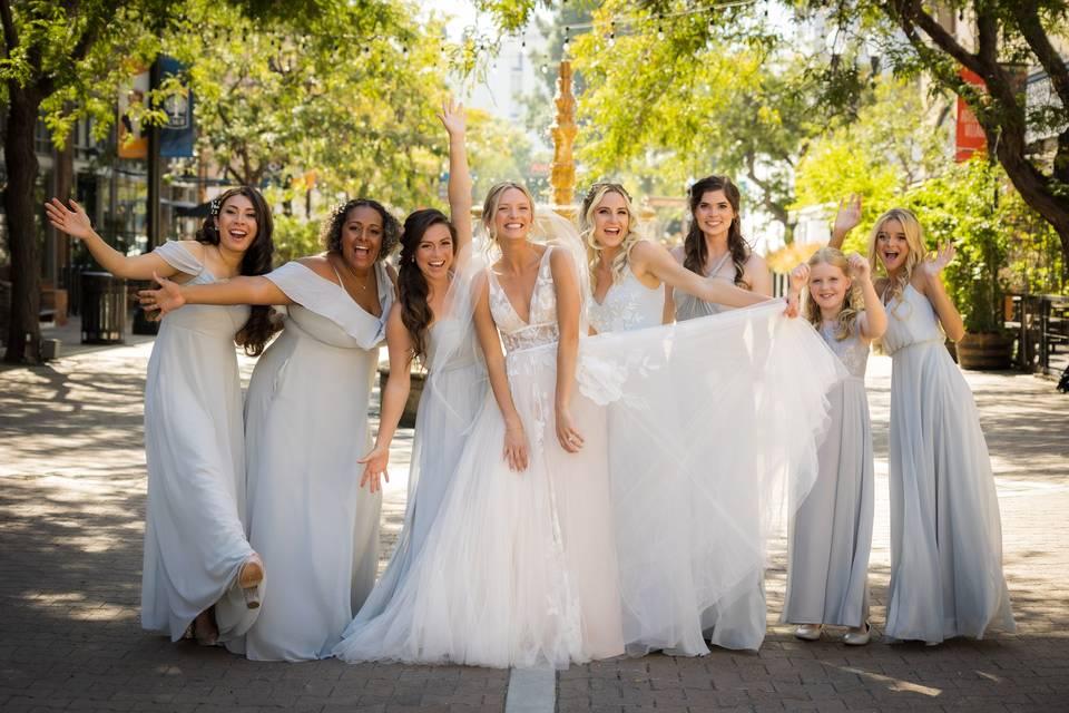 Bridesmaids Photo shoot!