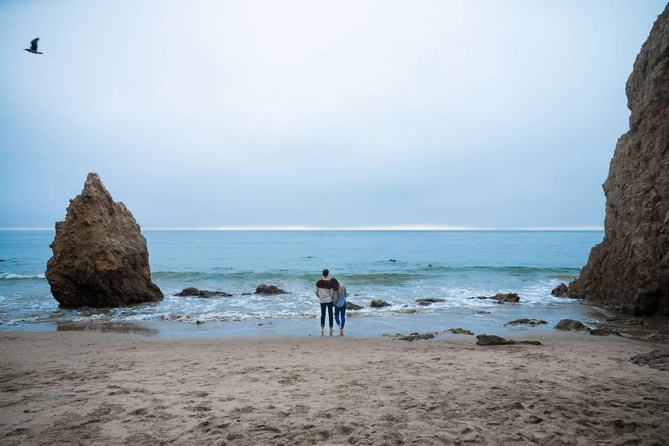 Malibu engagement shoot!