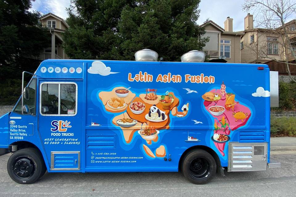 Latin Asian Fusion Food Trucks