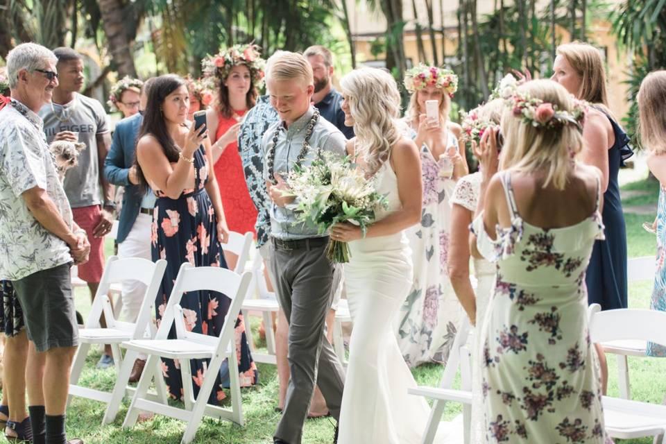Oahu Wedding Villa