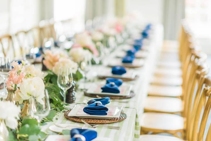Florals and tablescape rentals