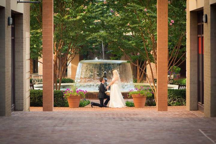 Embassy Suites Courtyard