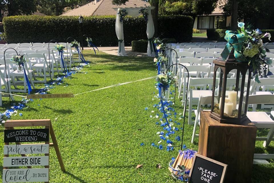 Garden Courtyard Ceremony