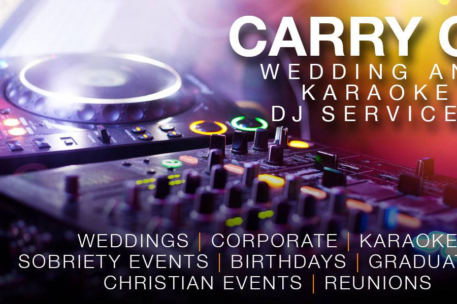 Carry On Wedding and Karaoke DJ Services