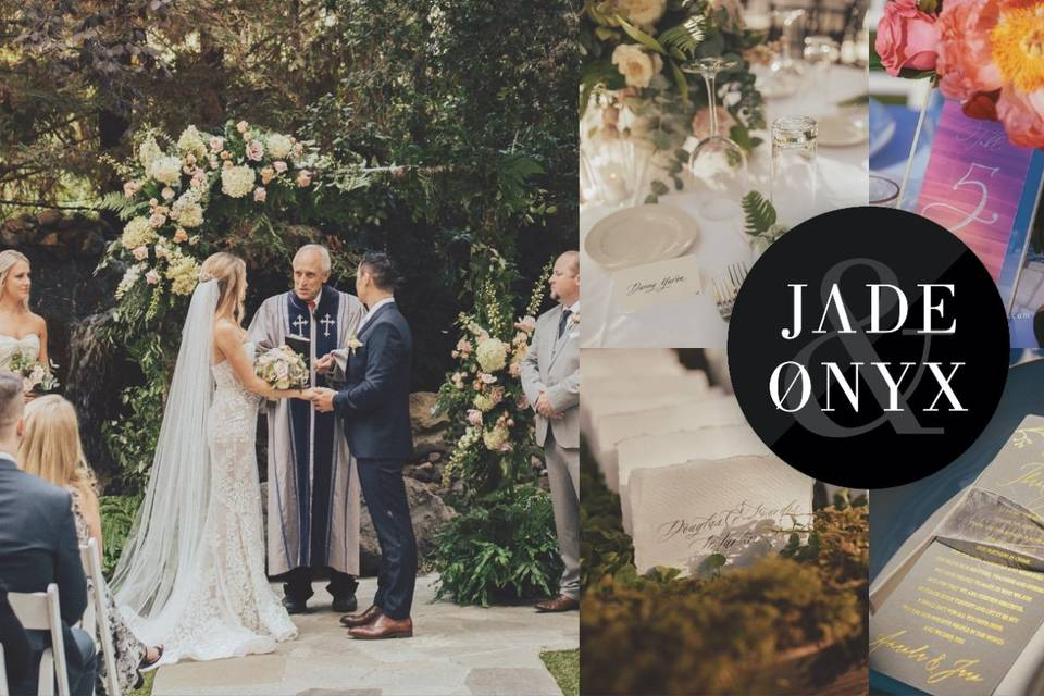 Jade and onyx weddings