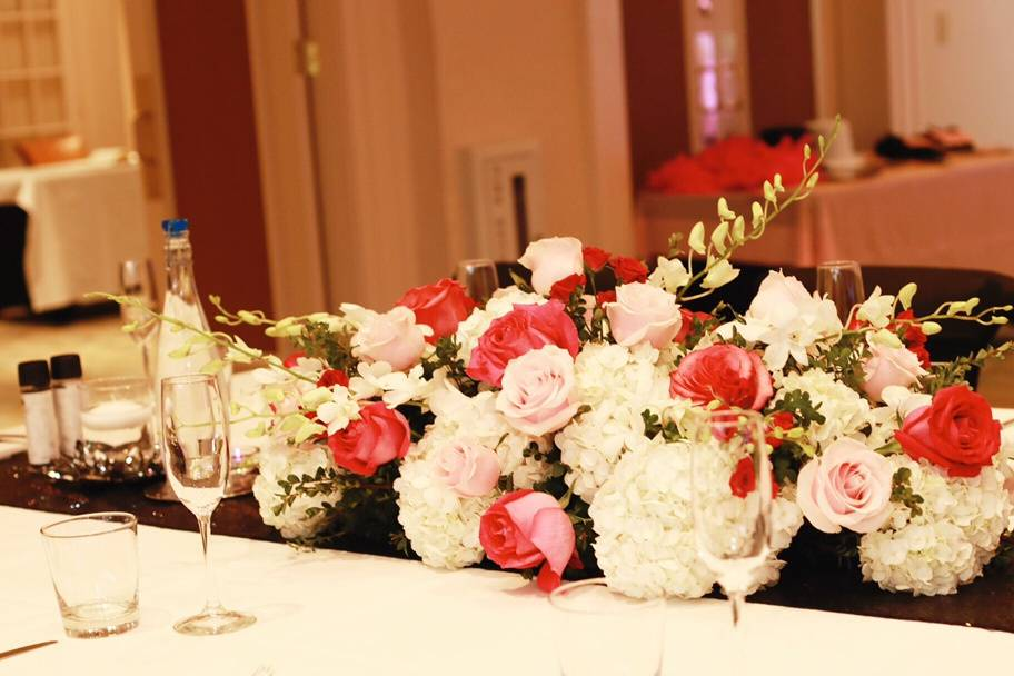 Head Table - 50th Party