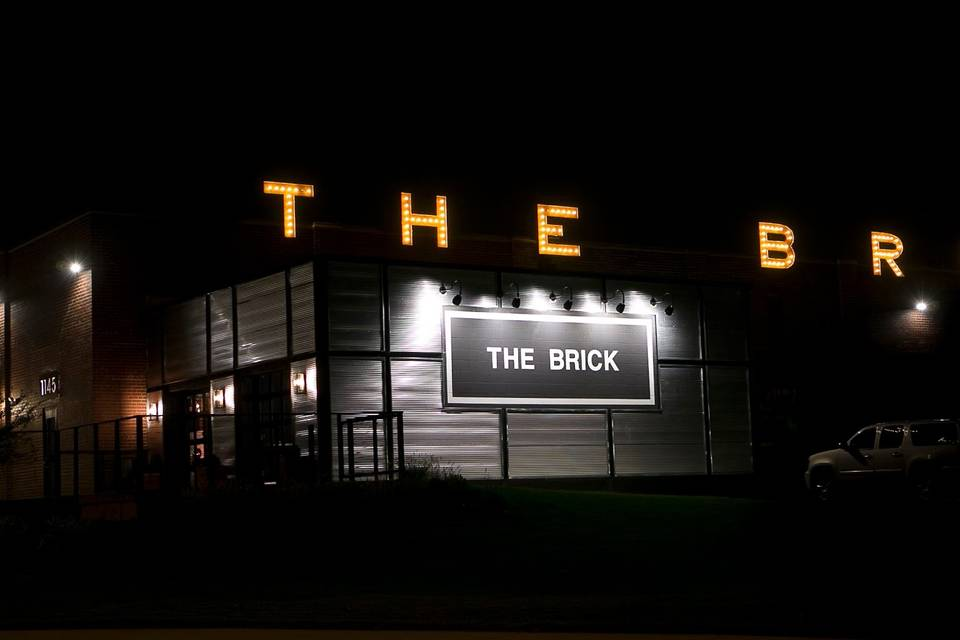 The Brick in lights