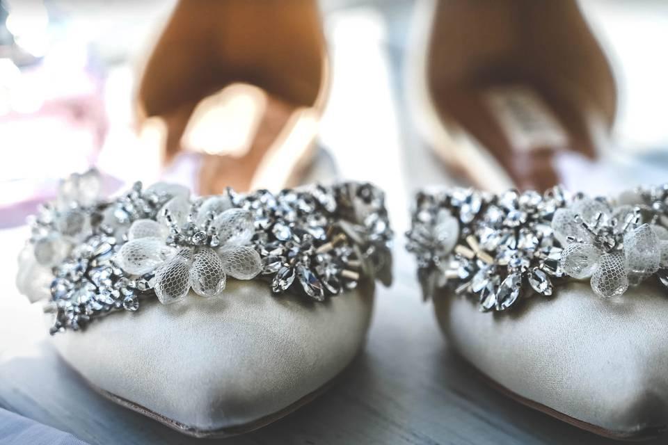 Wedding shoes - Wedding Wonder photography