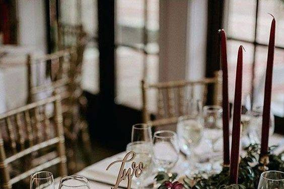 Fall Long table