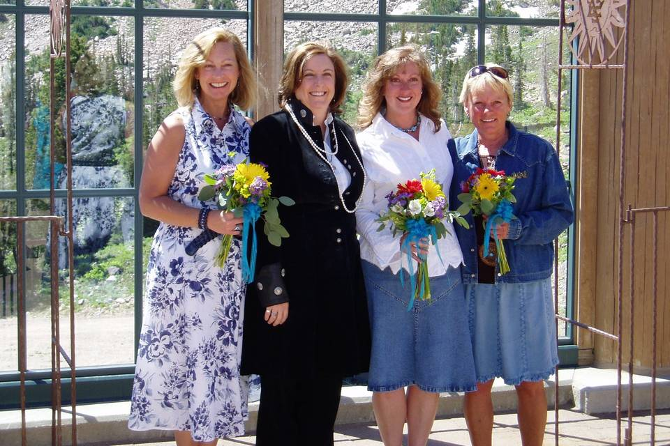 Enchanted Wedding of Santa Fe Rev Sharon Lewis