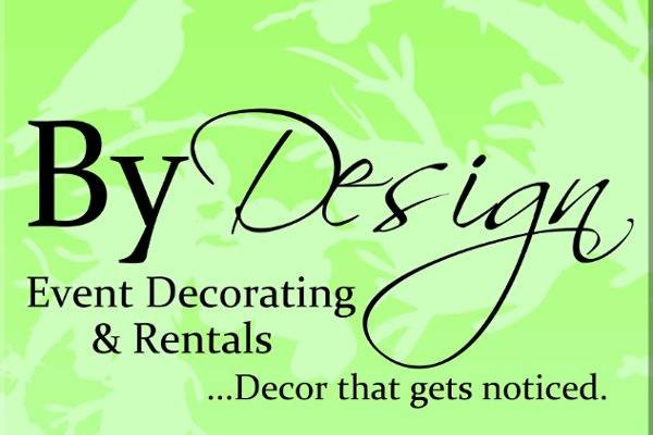 By Design Event Decorating & Rentals