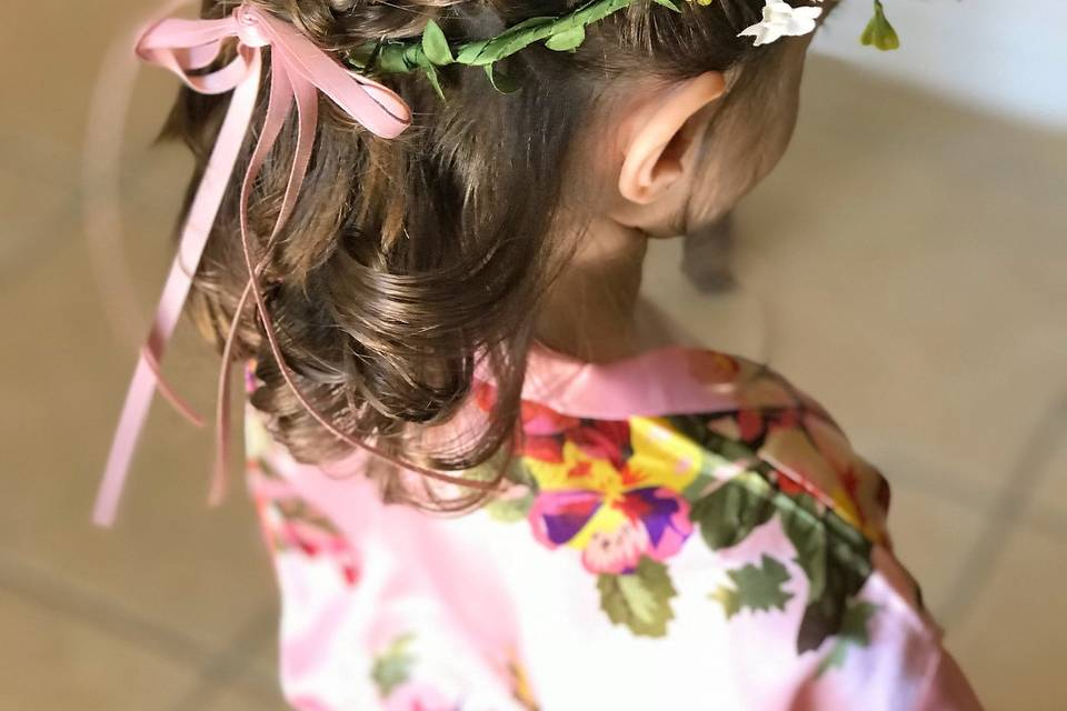 Childrens Hairstyling