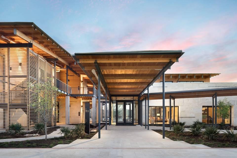 Main Entrance-Learning Center