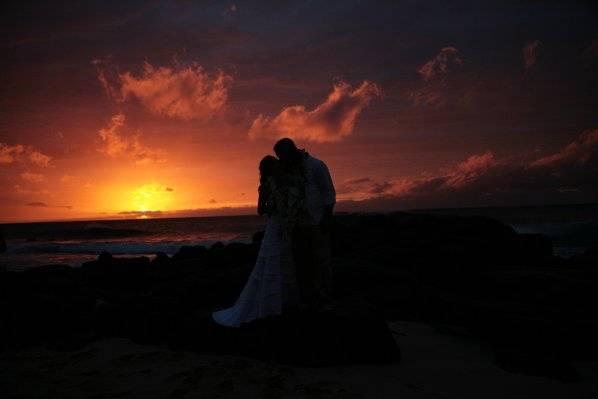 Hawai'ian wedding