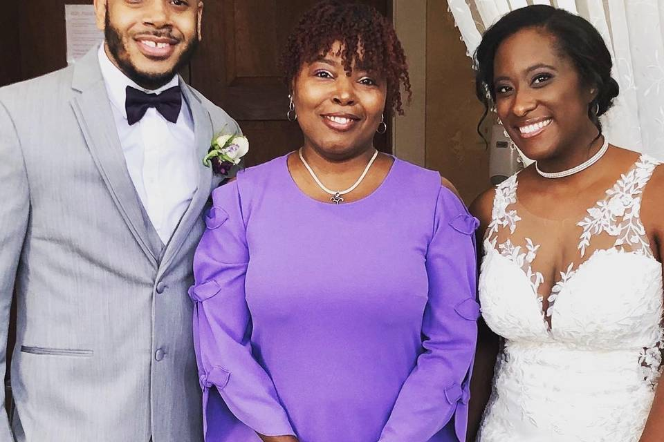 Purple is the wedding color