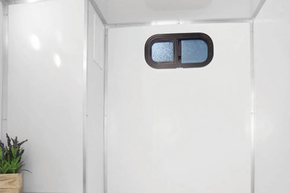 Interior of 2 Stall