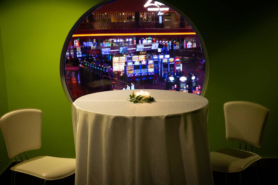 Cocktail Overlooking Casino