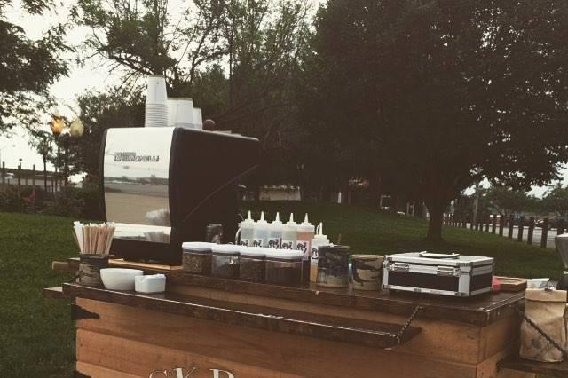 Jackrabbit Coffee's cart