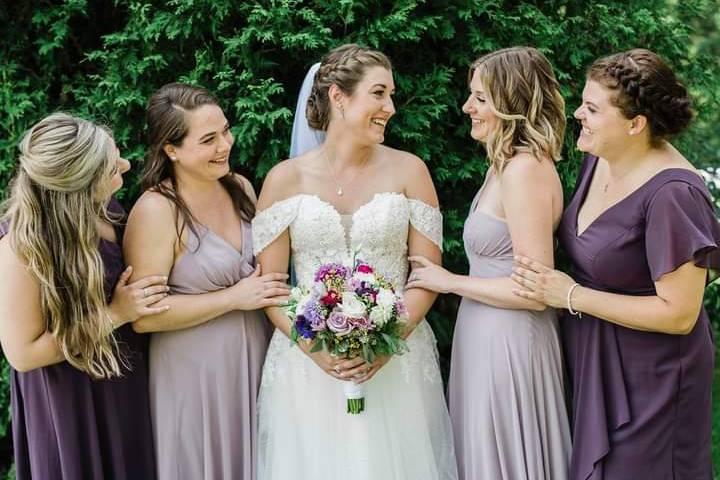 Lovely lavender wedding