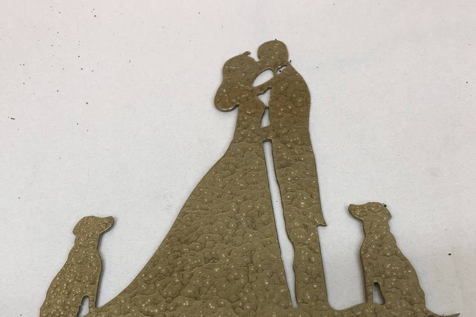 Cake Topper with pets