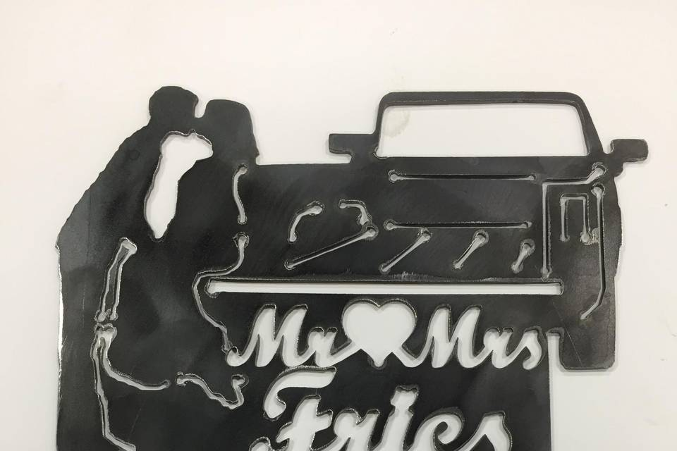 Cake Topper with truck