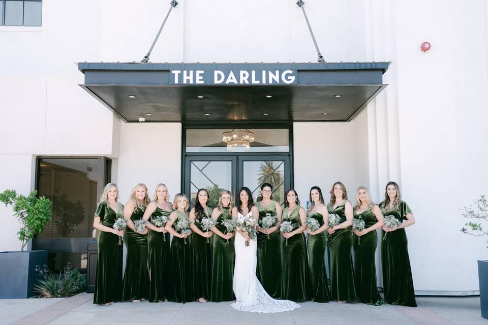 Bridesmaids Darling Hotel