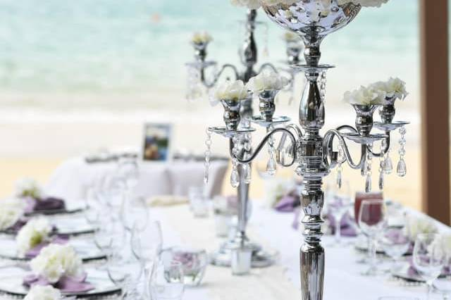 Beach wedding in Grenada