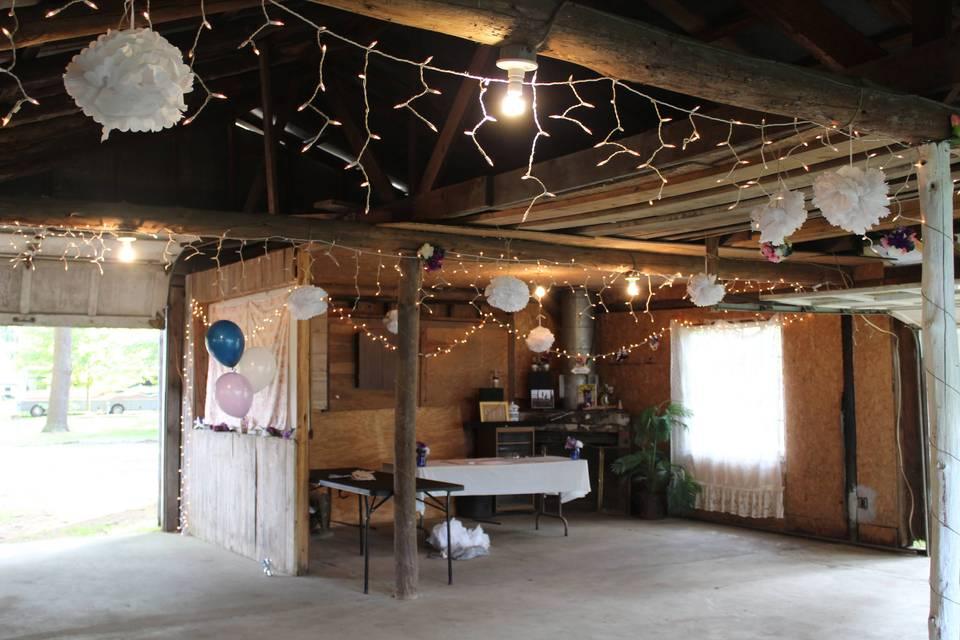 Indoor setup