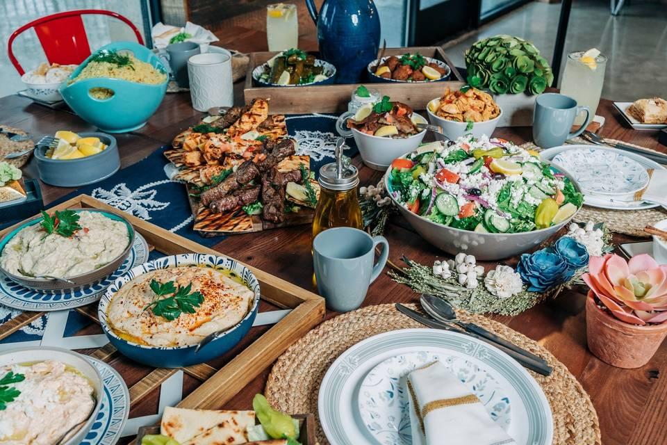 Family-style dinner