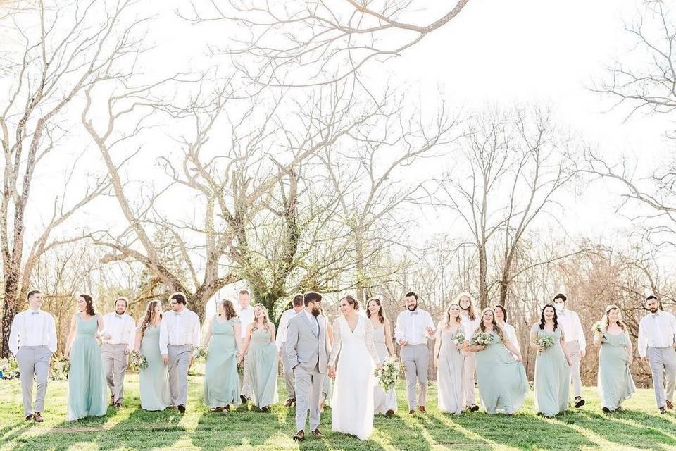 Early spring wedding