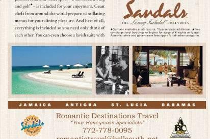 Romantic Destinations Ad