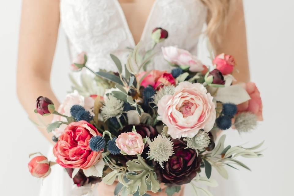 Nelson bridal bouquet