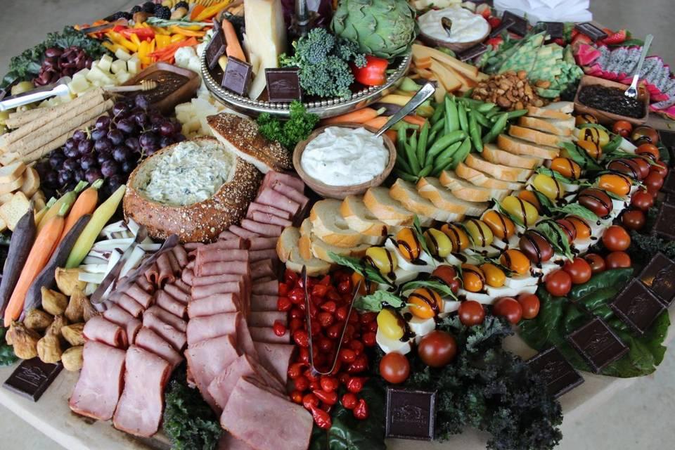 A spectacular spread