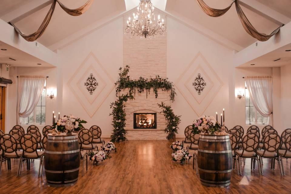 Indoor Winter Ceremony