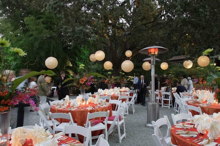 Lanterns and burnt oranges
