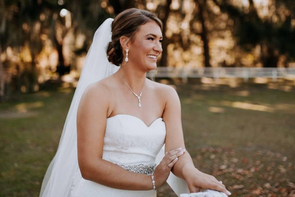 Savannah Georgia Bridal Hair