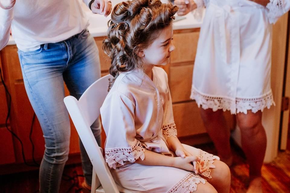 Savannah GA Wedding Hair